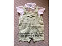 Designer baby outfits
