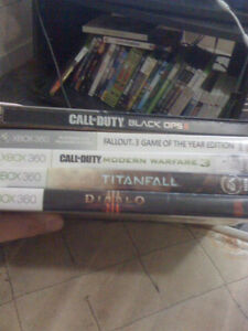 xbox 360 games for sale $10ea or 5 for $40
