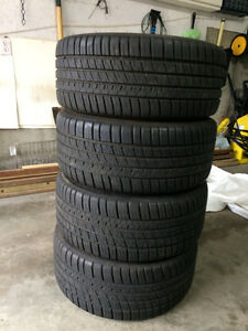 FOUR Michelin Pilot Sport A/S 3 like NEW in size 225/40/18