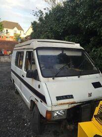 Renault traffic pop top camper van spares or repair