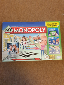 Bargain! Brand New! Design your own Monopoly