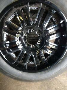 Selling summer tires on rims size 275/55r20 Kingston Kingston Area image 4
