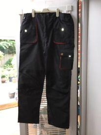 Men's heavy duty work trousers