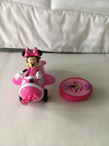 Remote control Minnie Mouse airplane