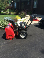 MTD 8/26 Snow Blower with Tecumseh Engine