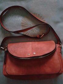 Bessie London - Orange Ladies Shoulder Bag