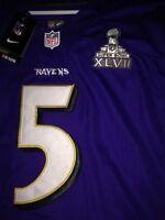 Brand new Ravens Joe flacco