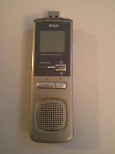 RCA Voice Recorder with usb 20$