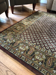 All Wool - 8ft x 5ft Area Rug
