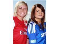£30 A GAME LADIES FOOTBALL