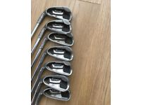 Left hand PING G20 golf clubs plus ping putter and callaway driver