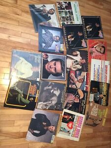 George Jones LP's records