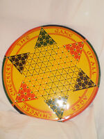 Tin lithograth Chinese Checkers Game