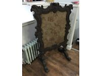 Antique fire screen. Can deliver