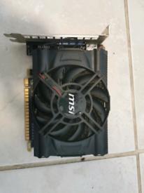 Graphics Card MSI NVIDIA GeForce GTX 650 1GB (N650-MD1GD5/OC)
