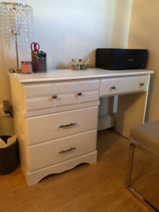 2 White Desks for Sale