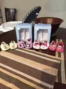 Robeez Leather Shoes 0-6 Months
