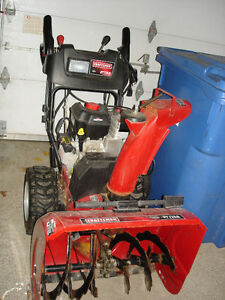 "CRAFTSMAN 27"" SNOW THROWER"