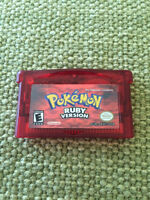 Pokemon Ruby for Gameboy Color/Advance. Orleans.
