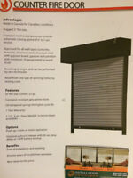 Fire Shutters with installation- best price in CANADA Guaranteed
