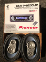 Car CD - Stereo Deck with (6x9) speakers