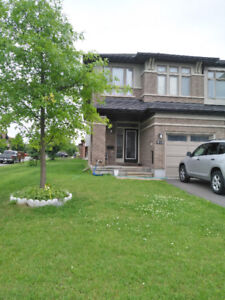 A townhouse for rent in Kanata Lakes, available since October 1