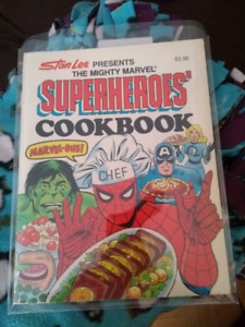 The Mighty Marvel Superheroes' Cookbook, 1977 very first edition