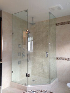 Frameless Shower Glass Doors Enclosures bathtubs - Mirrors etc. Kitchener / Waterloo Kitchener Area image 6