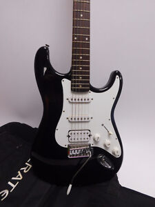 Crate Electric Guitar with a padded case.