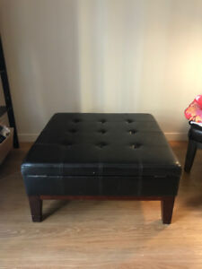 Large ottoman with storage