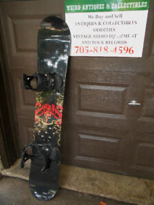 SNOWBOARDS AND BOOTS & HELMETS