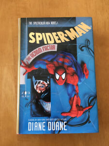 "Spider-Man ""The Venom Factor"" - Like New, With Card - (HC 1994)"