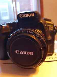 Canon EOS 20D with lens EF 50mm 1:1.8