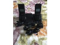 BT DIVERSE 7100 PLUS TRIPLE DIGITAL CORDLESS HANDSETS WITH ANSWER SYSTEM