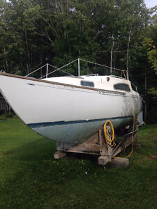 24' Paceship Westwind - Project boat