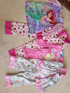 Girls size 2-3 pajamas, good condition, $25 obo