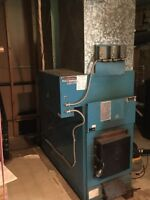 Summeraire wood/electric furnace for sale