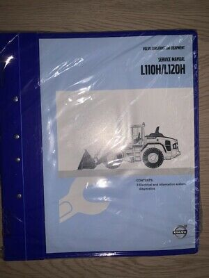 Volvo L110hl120h Service Manual - Electrical Info Sys Diagn New In Plastic