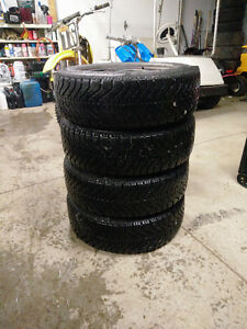 Goodyear Nordic 195/65/15 - Winter Tires on Rims