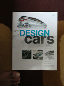 HOW TO DESIGN CARS LIKE A PRO BY TONY LEWIN AND RYAN BORROFF