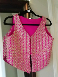 Fancy vest to upgrade any outfit $80 OBO