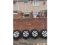 Frontera, 6x139, 4x4, 6 stud, 16inch alloys, 245 tyres