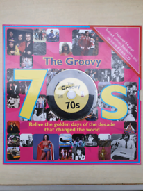 The Groovy 70s 64-page bookazine and CD