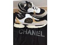Chanel trainers flat shoes - UK size 5