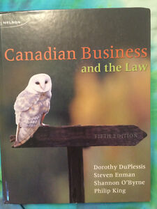 Red River College Text Book Canadian Business and the Law