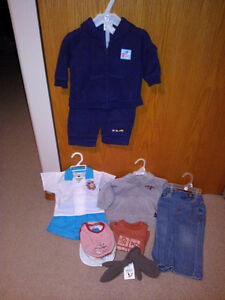 10 baby clothing and accessories items for one price