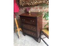 ANTIQUE BEDSIDE TABLE FREE DELIVERY SMALL CHEST