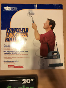 BRAND NEW Power-Flo Paint Roller System