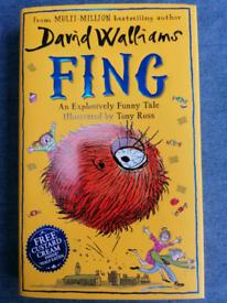 David Walliams book Fing