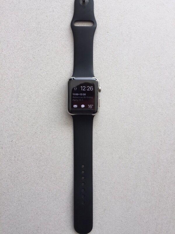 Apple Watch series 1 42mm Stainless Steel Version. Original Rrp £500